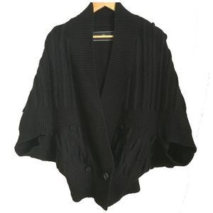 By Malene Birger Wool Black Cardigan, size Medium